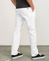 3 week-end Stretch straight fit Pant  M314VRWS RVCA