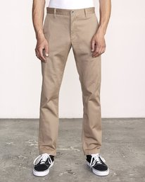 0 Week-End Stretch Pant Grey M314VRWS RVCA