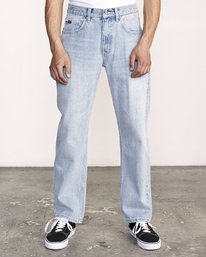 0 Americana Relaxed Fit Denim White M321VRAM RVCA