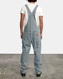 2 CHAINMAIL RELAXED FIT OVERALL Blue M3263RNH RVCA
