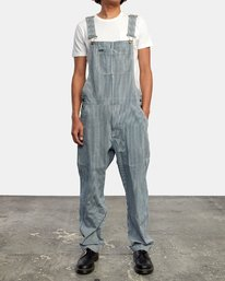 1 CHAINMAIL RELAXED FIT OVERALL Blue M3263RNH RVCA