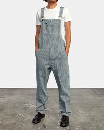 3 CHAINMAIL RELAXED FIT OVERALL Blue M3263RNH RVCA
