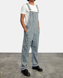 4 CHAINMAIL RELAXED FIT OVERALL Blue M3263RNH RVCA