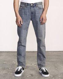 0 Daggers Slim-Straight Jeans Multicolor M327VRDA RVCA