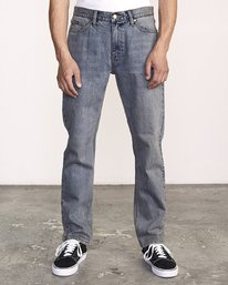 0 Daggers Slim-Straight Jeans Blue M327VRDA RVCA