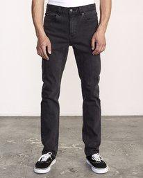 0 Hexed Slim Fit Jeans Black M328VRHD RVCA