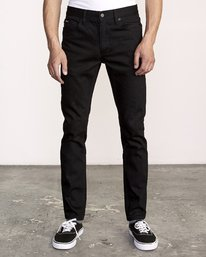 0 ROCKERS SKINNY FIT DENIM Grey M329VRRD RVCA