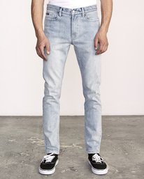 0 ROCKERS SKINNY FIT DENIM Beige M329VRRD RVCA
