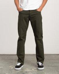 0 Stay RVCA Straight Fit Pants Camo M3306SRP RVCA