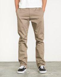 0 Week-End Pants Green M3307WEP RVCA