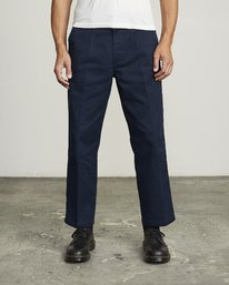 0 Spanky Okapi Cropped Relaxed Fit Pant Blue M330WROP RVCA