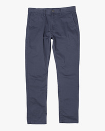 0 DAGGERS SLIM FIT CHINO pant Blue M3443RDC RVCA
