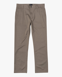 0 week-end Stretch straight fit Pant Grey M3493RWS RVCA