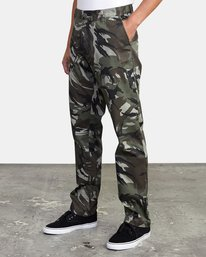3 week-end Stretch straight fit Pant Beige M3493RWS RVCA