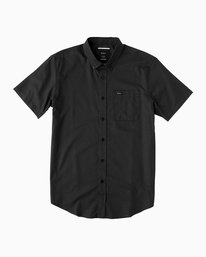 0 That'll Do Oxford Shirt Black M3514TDS RVCA