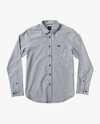 0 That'll Do Oxford Long Sleeve Shirt Multicolor M3515TDL RVCA
