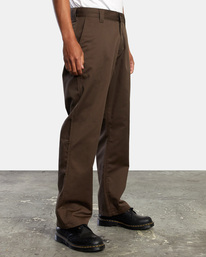 6 AMERICANA RELAXED FIT CHINO PANT Brown M3583RAC RVCA