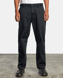 1 Recession | Americana Relaxed Fit Chino Pants Orange M3583RAC RVCA