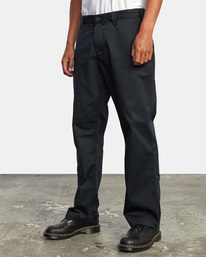 4 Recession | Americana Relaxed Fit Chino Pants Orange M3583RAC RVCA