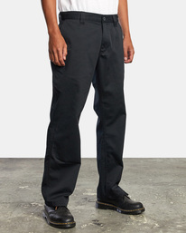 6 Recession | Americana Relaxed Fit Chino Pants Orange M3583RAC RVCA
