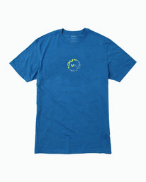 0 INFINITY TEE Blue M4011RIN RVCA
