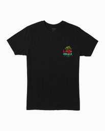 0 MUSHY KID T-SHIRT Black M4011RMU RVCA