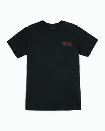 0 TRANSMISSION SHORT SLEEVE T-SHIRT Black M4013RTR RVCA