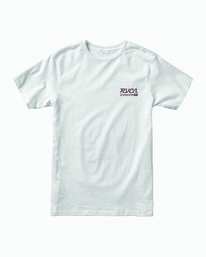 0 TRANSMISSION SHORT SLEEVE T-SHIRT White M4013RTR RVCA