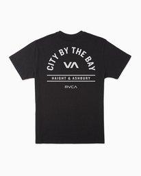 0 City By The Bay T-Shirt Black M401SRCI RVCA