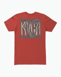 0 Gretta T-Shirt Red M401SRGR RVCA