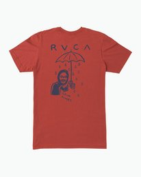 0 Pommier Grim Times T-Shirt Red M401SRGT RVCA