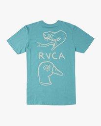 0 Pommier Eternal Struggle T-Shirt Blue M401TRET RVCA