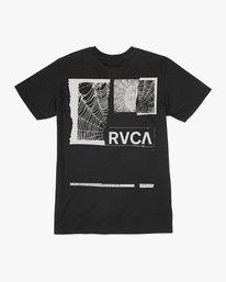 0 Glew T-Shirt Black M401TRGL RVCA