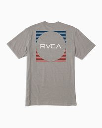 0 Motorstripe T-Shirt Green M401TRMS RVCA
