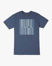 0 Repeated T-Shirt Blue M401TRRE RVCA