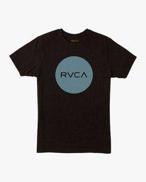 0 Motors Push T-Shirt Black M401URMP RVCA