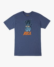 0 DMOTE Reflections T-Shirt Blue M401URRE RVCA
