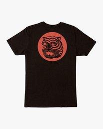 0 Lienes Bengal T-Shirt Black M401VRBE RVCA