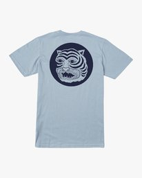 0 Lienes Bengal T-Shirt Blue M401VRBE RVCA