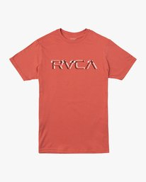 0 Big Glitch T-Shirt Green M401VRBG RVCA