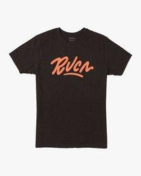 0 Flow T-Shirt Black M401VRFL RVCA