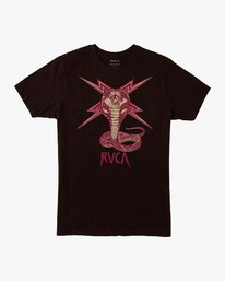 0 Axis Strike T-Shirt Black M401VRST RVCA
