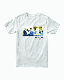 0 Balance Box T-Shirt White M401WRBB RVCA