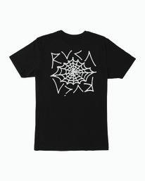 0 Cobbwebs T-Shirt Black M401WRCO RVCA