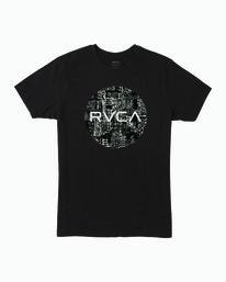 0 Motors Fill T-Shirt Black M401WRMO RVCA
