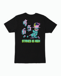 0 Dmote Stakes Is High T-Shirt Black M401WRST RVCA