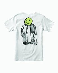 0 Andrew Pommier Twins T-Shirt White M401WRTW RVCA