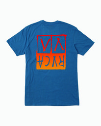 0 Unplugged T-Shirt Blue M401WRUN RVCA