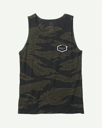 0 TIGER CAM TANK TOP Brown M4021RTI RVCA