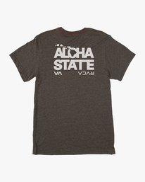 0 Bold Aloha T-Shirt Black M402KRBH RVCA